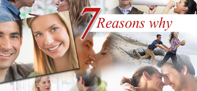 7 Reasons why most relationships Fail